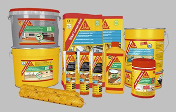 BAG distributor of SIKA products.
