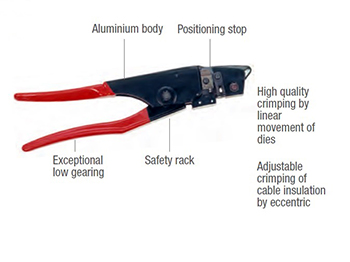 MECATRACTION TH1 CRIMPING TOOL
