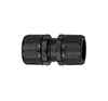 PLA16-PLA16 BLACK COUPLER FOR CONDUITS