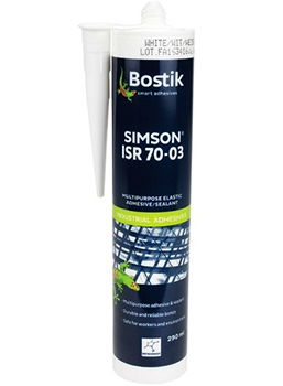 BOSTIK SIMSON ISR 70-03 WHITE IN 290 ML CARTRIDGE