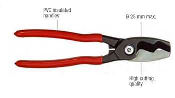 MECATRACTION CC20 HAND CABLE CUTTER