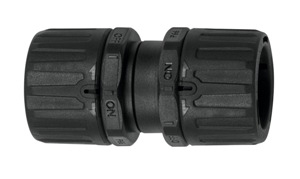 PLA28-PLA28 BLACK COUPLER FOR CONDUITS
