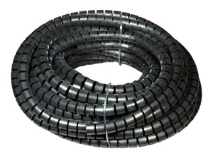 PLIOSPIRE PA 3 BLACK IN ROLL OF 50 M
